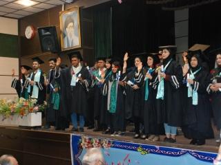 برگزاری جشن فارغ التحصیلی دانش آموختگان تیر 97