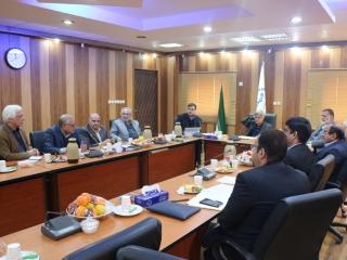 نهمین جلسه شورای هماهنگی دانشگاه ها و موسسات غیر دولتی غیر انتفاعی منطقه 10 در محل جهاد دانشگاهی
