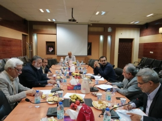 دهمین نشست شورای هماهنگی دانشگاه ها و موسسات آموزش عالی غیر دولتی-غیر انتفاعی منطقه 10(خوزستان) تیرماه 98